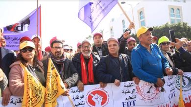 Photo of التنسيق النقابي الخماسي يصعد احتجاجه ضد وزارة التعليم تنديدا بسياسة التجاهل