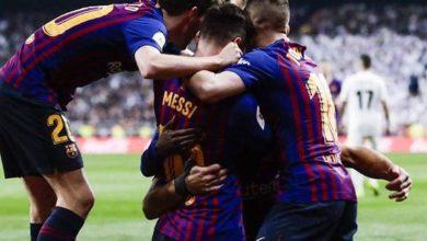 Photo of برشلونة رسمياً في نهائي كأس ملك إسبانيا بعد ثلاثية مدوية في شباك ريال مدريد