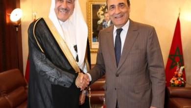 Photo of في لقاء مع المالكي.. سفير السعودية يؤكد الدعم الدائم لبلاده للوحدة الترابية للمغرب