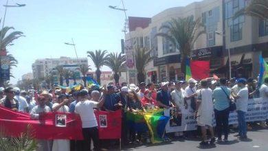 Photo of فعاليات أمازيغية تحتج في مسيرة بأكادير من أجل حقها في الأرض والثروة