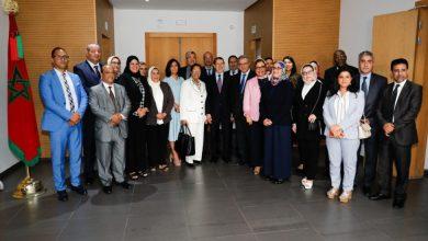 Photo of تنصيب أعضاء اللجنة الوطنية للتكفل بالنساء ضحايا العنف