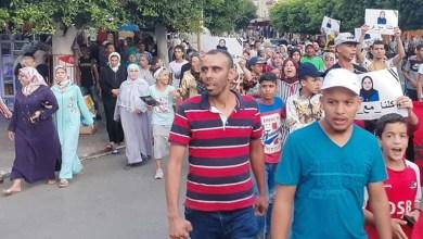 Photo of احتجاجات بالقصر الكبير بعد وفاة شابة حامل بسبب الإهمال داخل المستشفى