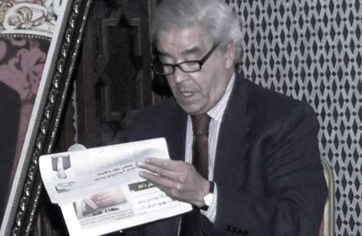 قيدوم الصحافيين المغاربة مصطفى العلوي في ذمة الله