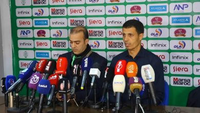 جمال السلامي : نعتذر لجمهور الرجاء و أتحمل مسؤولية اختيار اللاعبين