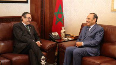 """Photo of المالكي لـ""""سفير إسبانيا"""": نسجل بارتياح تفاعلكم الإيجابي مع قانون ترسيم الحدود البحرية المغربية"""