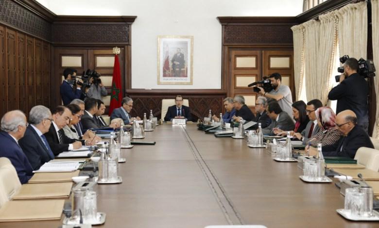 مجلس الحكومة المنعقد يوم 12 مارس