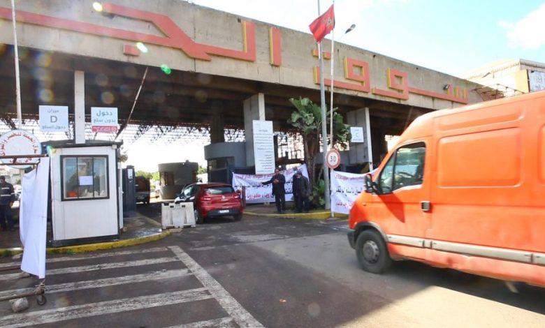 أجواء سوق الجملة للخضر والفواكه بالبيضاء في اليوم الأول من حالة الطوارئ