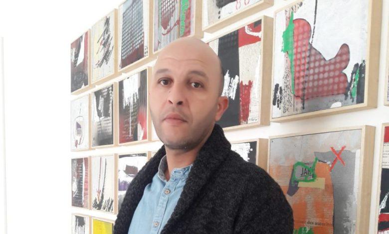 """Photo of معرض """"عبور""""للفنان التشكيلي سعيد الراجي بالدار البيضاء"""