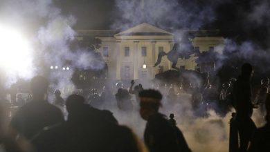"Photo of الولايات المتحدة تشتعل لليوم السادس وترامب يصف المظاهرات بـ""الإرهاب المحلي"""