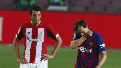 Photo of برشلونة يتفوق أمام ضيفه بلباو ويستعيد الصدارة مؤقتا