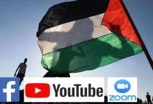 """Photo of شركات """"الفايسبوك"""" و""""اليوتوب"""" و""""زووم"""" تتحد وتمنع ندوة عن فلسطين بجامعة أمريكية"""
