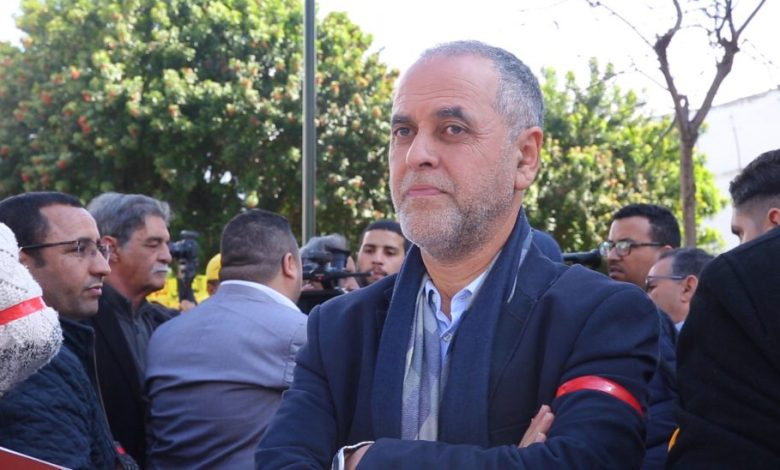 عبد الله البقالي نقيب الصحفيين