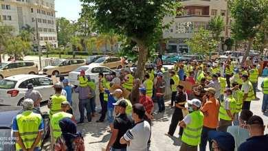 """Photo of عمال """"أمانور"""" يعودون إلى الاحتجاج من جديد"""