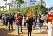 Photo of احتجاج طلبة ensam: ولاد الشعب قرينا و غنتخرجو مهندسين في الأخير غنعيشو في البطالة