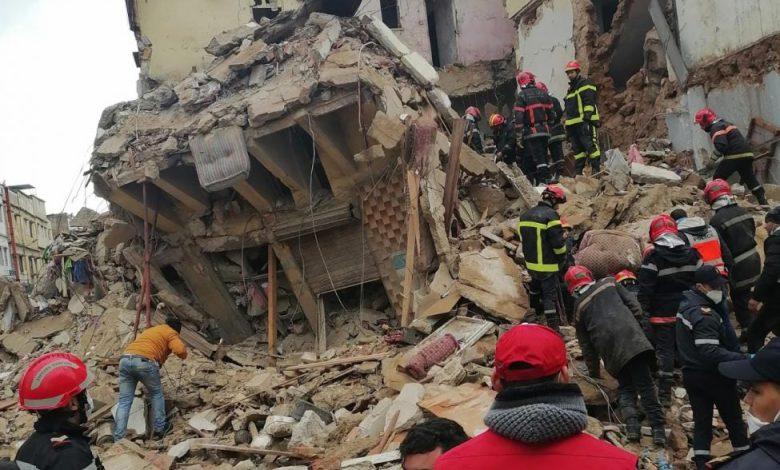 Photo of رئيس مقاطعة الحي المحمدي يبعد عنه مسؤولية انهيار المنازل ويدعو الساكنة لأخذ العبرة