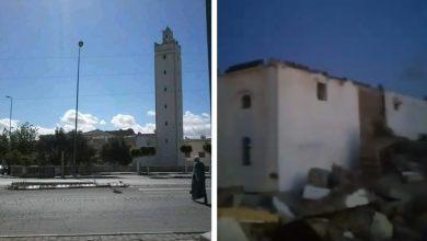 Photo of آسفي : انهيار كامل لصومعة مسجد بحي سانية زين العابدين تزامنا مع أداء الصلاة