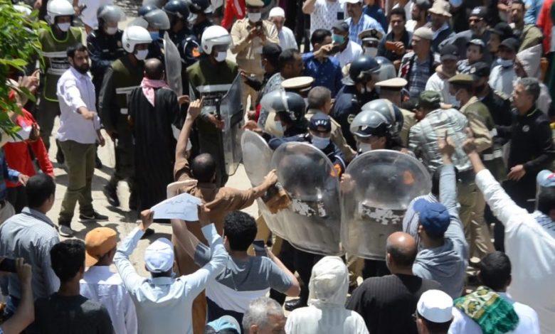 آسفي: الأمن يتدخل لتفريق وقفة مسجدية للتضامن مع فلسطين