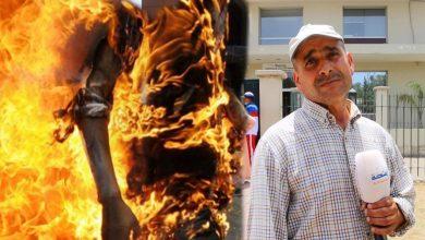 """مؤثر..قصّة بائع متجول أحرق نفسه بسبب اهانة """" القايد"""" و الأب يطالب بالانصاف"""