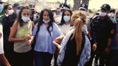 بالفيديو: لحظة منع اعتصام تضامني مع الصحافي سليمان الريسوني من أمام سجن عكاشة