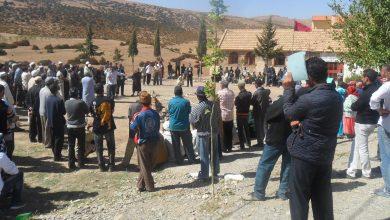 """سكان جماعة """"المرس"""" يواصلون احتجاجاتهم وينددون بإخلال السلطات بوعودها"""