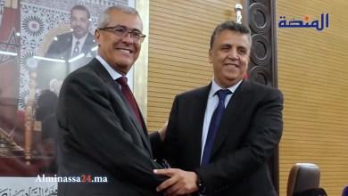 من داخل وزارة العدل فرح و سرور لحظة تسلم عبد الطيف وهبي الوزارة