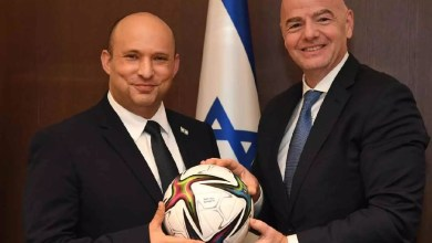 """على أنقاض مقبرة إسلامية .. إنفانتينو يدعم استضافة """"إسرائيل"""" لكأس العالم"""