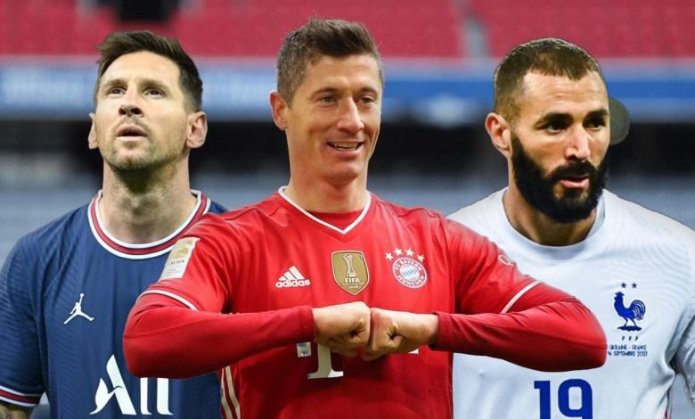 بالأرقام .. من الأوفر حظا للفوز بجائزة الكرة الذهبية لسنة 2021؟