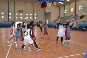 Basketball cadettes Jeux Scolaires championnat inter-ligues Tiznit 17-03-2017_18