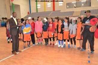 Basketball cadettes Jeux Scolaires championnat inter-ligues Tiznit 17-03-2017_35