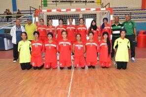 Handball Feminin ittihad Ait Melloul – Manar Elqods 20-05-2017_11