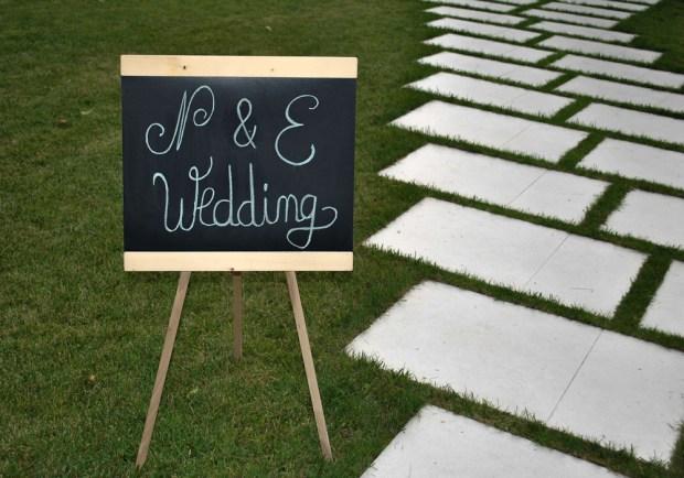 Decor nunta in aer liber