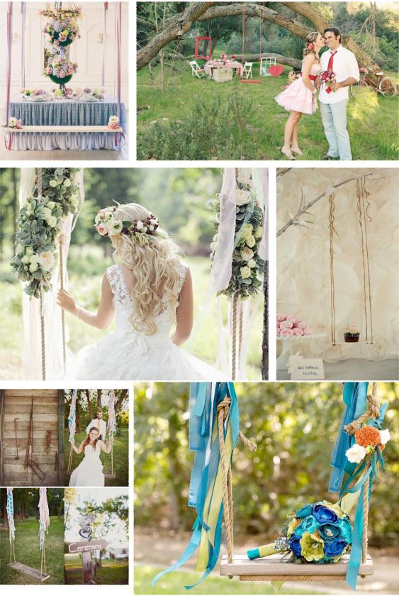 nunta cu leagan