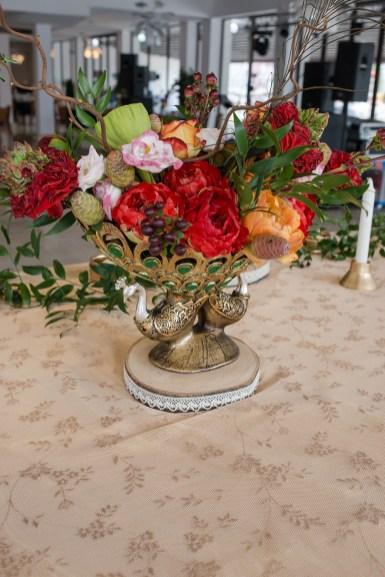 aranjament floral masa prezidiu