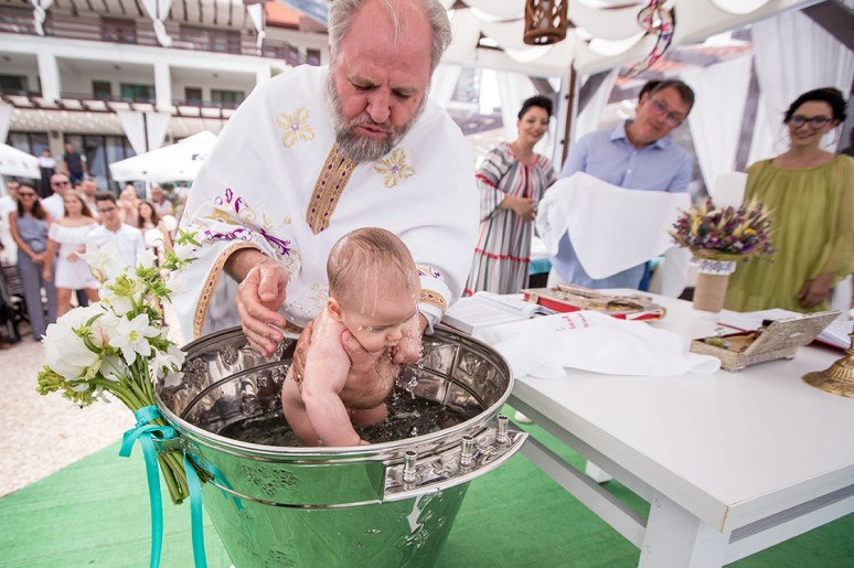 botez la malul marii