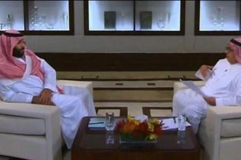 قناة إيرانية: محمد بن سلمان بصق في وجه إيران.. ومستشار بالديوان الملكي: واضح أن اللقاء أوجعهم
