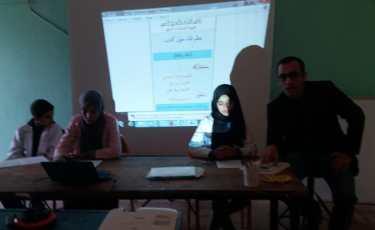اللقاء المنظم من طرف نادي القراءة والإبداع الأدبي بالثانوية الإعدادية دار الشاوي حول كتاب الطفل والإعلام..