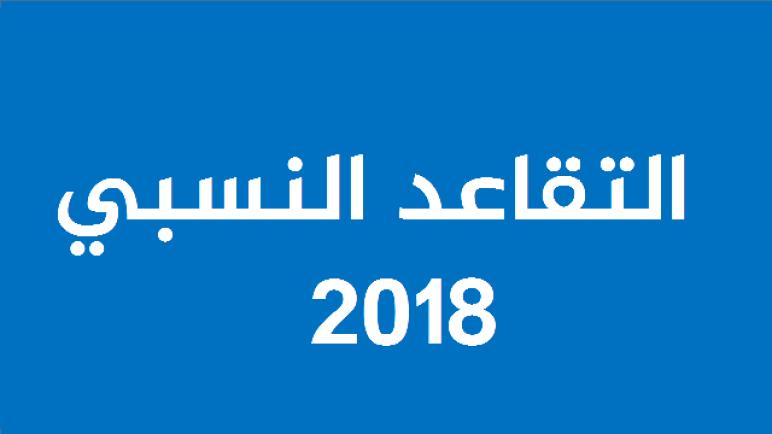 لائحة طلبات التقاعد النسبي المقبولة برسم سنة 2018 لجهة مراكش آسفي