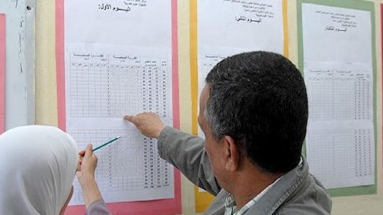"""استعمال الزمن المستوى الثالث """"عربية"""" وفق المنهاج الجديد"""
