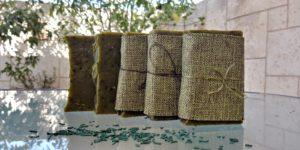 סבון טבעי בעבודת יד ספירולינה