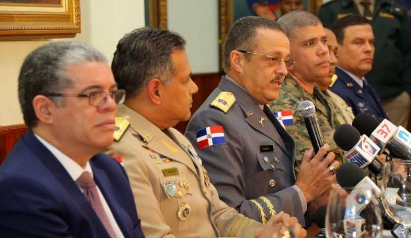 Mandarán a las calles 7 mil soldados y policías a enfrentar delincuencia en RD