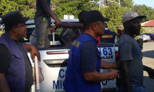 Migración repatria a un grupo de 1,194 ilegales, entre ellos 957 haitianos
