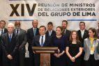 El Grupo de Lima pide a Rusia y China que retiren su apoyo a Nicolás Maduro