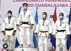 Marte y Del Castillo ganan plata y bronce en clasificatorio juvenil de judo