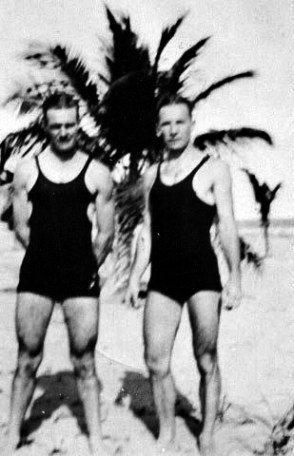 "13 - Brothers Elmer (""Mickey"") and Carl McIntosh"