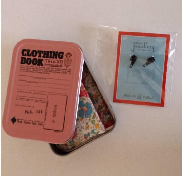 almond rock sewing secret santa