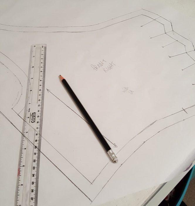 Almond rock pattern drafting Winnie aldrich