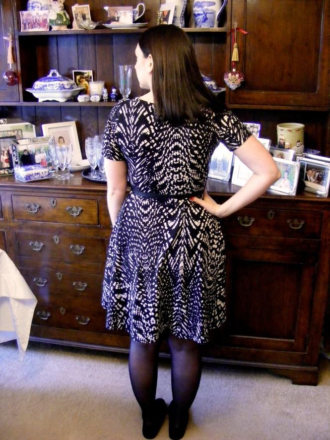 almond rock jungle january jersey dress