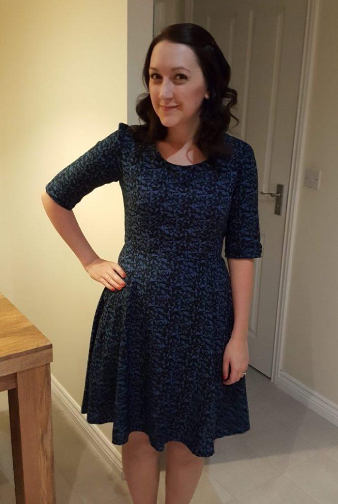 almond rock sew over it vintage shirt dress joan