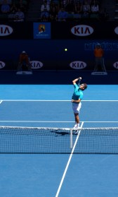 Federer at Aus Open