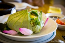 Saigon, Vietnam - lotus steamed rice